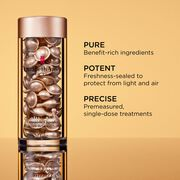 Benefit-rich ingredients, freshness-sealed to protect from light and air and premeasured single-dose treatments