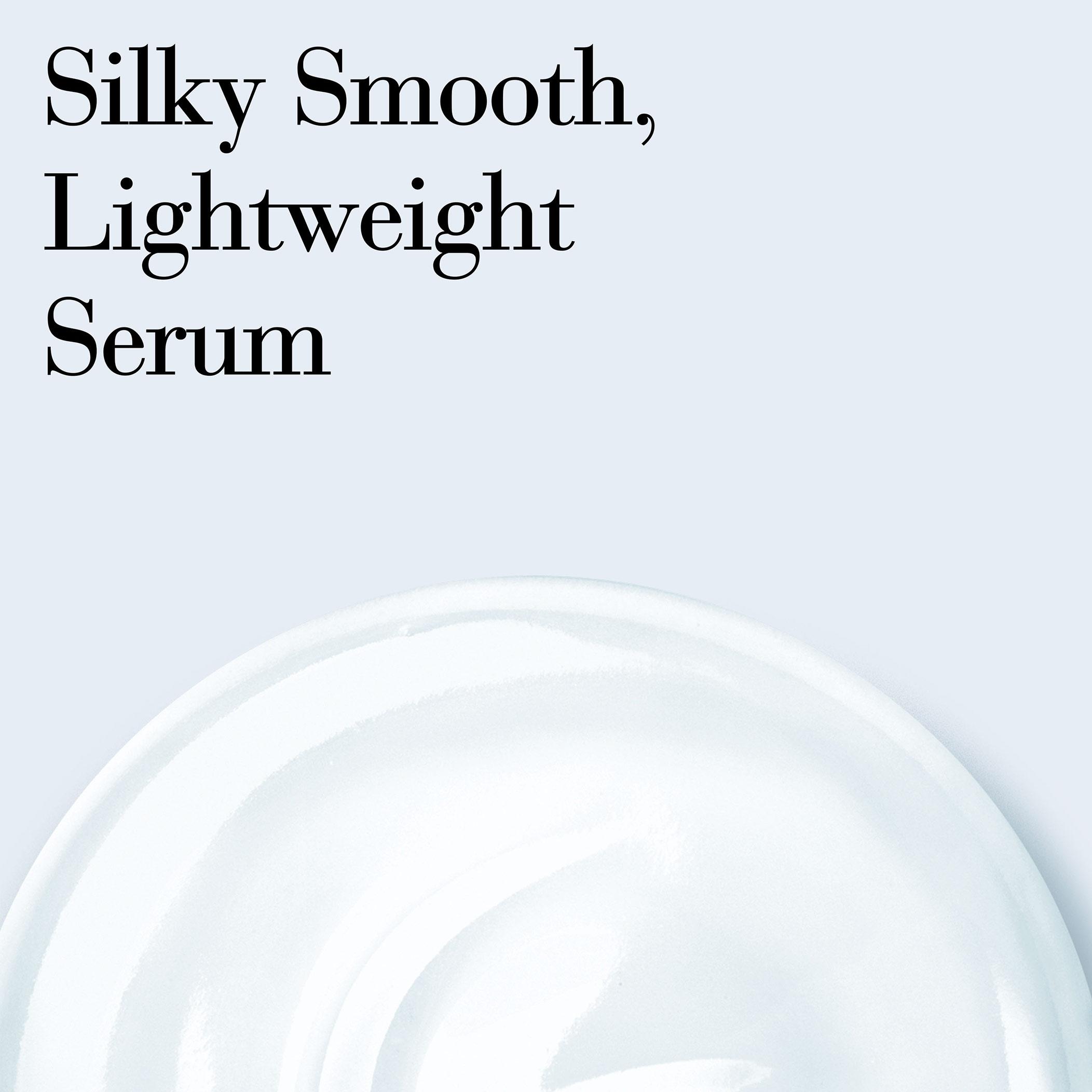 Texture is Silky Smooth, Lightweight Serum